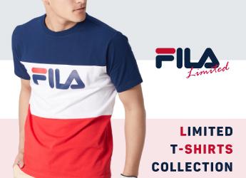 【直営店限定】FILA 別注Tシャツコレクション