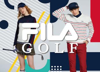 【ゴルフウェア】FUN&HAPPYがテーマの「FILA GOLF」はこちら!