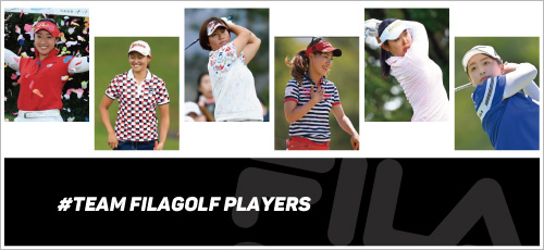 FILAGOLF/marieclaire契約プロ