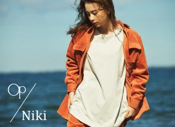 【OP×Niki】イメージモデルNikiさんの秋冬スタイリング