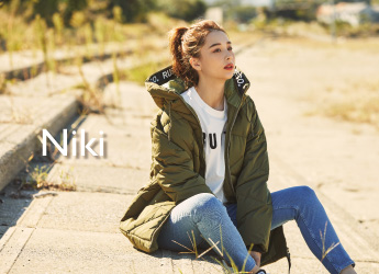【RUSTY×Niki】イメージモデルNikiさんの秋冬スタイリング