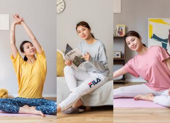 【ヨガ&ルームウェア】部屋着を変えると意識も変わる!