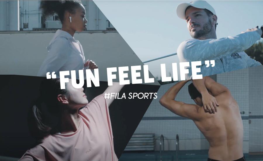FILA(フィラ)のスポーツウェア直営通販サイト/